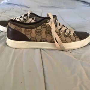 Michael Kors Brown/Tan Sneakers size 9